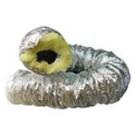 Tubo Flexible Aluminio con Aislante Lana Roca